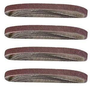 Sanding Belt Lot Sander belt 13* 457mm 20pcs Assorted Finger Sander Belts