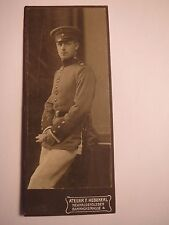 Neuhaldensleben - Uhrsleben - 1911 - Otto Lehrling als Soldat in Uniform / CDV