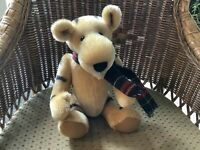 "Artist Signed Donna Mae Hinkelman Bainbridge Bears ""Bouncer"" Mohair OOK Tiger"