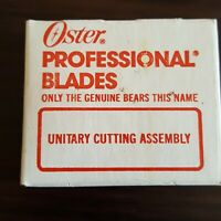 Oster Unitary Cutting Assembly NO 80 Size 40 Cat No 919-01 USA Professional