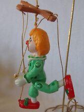 Clown String Puppet Marionette Christmas Ornament