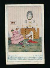 Künstler-AK Mela Köhler, DSV-Karte Nr. 1224, Deutscher Schulverein (R17)