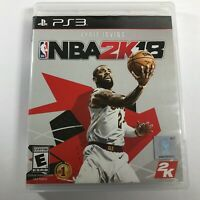 NBA 2K18 2018 (Sony PlayStation 3) PS3 2K COMPLETE