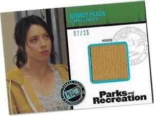 Parks & Recreation - R-AP2 Aubrey Plaza - April Ludgate - Hoodie Costume Card