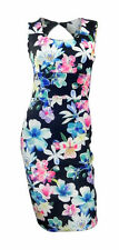 New Look Women's Sleeveless Scoop Neck Stretch, Bodycon Dresses