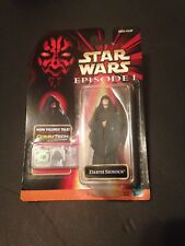 Star Wars Darth Sidious Episode 1 Action Figure w/ CommTech Chip