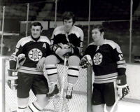 Phil Esposito, Derek Sanderson, Fred Stanfield Boston Bruins 8x10 Photo