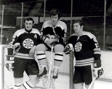 Phil Esposito, Derek Sanderson, Fred Stanfield Boston Bruins 8x10 Photo