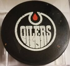 Edmonton Oilers vintage WHA Hockey Puck made in Canada official game  used CLEAN