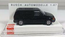 Busch 44650 Dodge Ram Van schwarz - 1:87 - Unbespielt - OVP