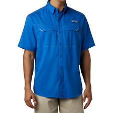 Columbia Sportswear Men's PFG Low Drag Offshore Short Sleeve Shirt NEW
