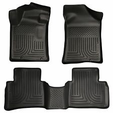 Husky Liners WeatherBeater Floor Mats- 3pc- 99641- For Nissan Altima 13-18 Black