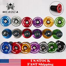 MEROCA MTB End Plugs 6061 AL+Plastic For 22~24mm Mountain Bike Bicycle Handlebar