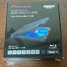 Pioneer BDR-XD07J-UHD Portable Blu-ray Drive Black Win/Mac BDXL USB 3.0