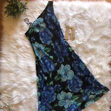 Rabbit Designs Women's One Shoulder Asymmetrical Hem Summer Floral Dress Size 10