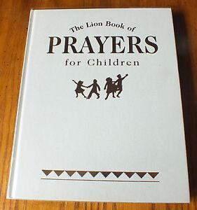 The Lion book of Prayers for children Hardback 2005