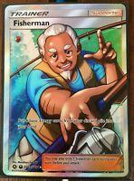 Pokemon Card   FISHERMAN   Ultra Rare  SV83/SV94   HIDDEN FATES  **MINT**