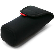 NEOPRENE FLASH CASE Soft Pouch Cover Bag(L) Black for PENTAX AF-540FGZ AF500FTZ