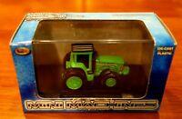 New Toy Zone Mini Machines Field Pro Master Green Farm Tractor Die Cast
