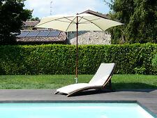 Maffei ombrellone esagonale Madera Art.66 ecru poliestere d.280 cm
