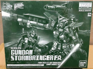 Bandai Gundam MG Stormbringer F.A./GM Turbulence PB Limited 1/100 Model Kit