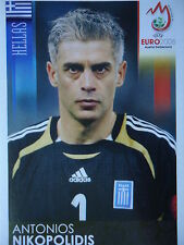 Panini 364 Antonios Nikopolidis Griechenland UEFA Euro 2008 Austria Switzerland
