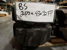 Bridgestone 250x72x43 Rubber Tracks (directional drill, mini EX)
