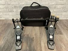 More details for mapex janus double bass drum pedal drum hardware with case #pd050