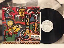 PAZ - LOOK INSIDE LP EX/EX 1983 UK PALADIN RECORDS PALP001