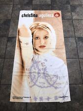 Rare Vtg 2000 Christina Aguilera American Singer Collectible Beach/Bath Towel