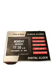Easy To Read Clear Clock