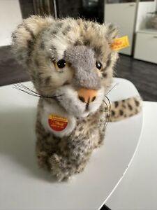 Steiff Schneeleopard Snobby Baby 065750 Top Zustand
