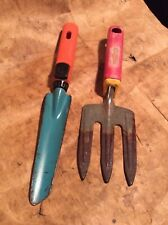 Wolf Hand Fork - fixed - plus unnamed bulb trowel