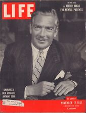 LIFE November 12,1951 Anthony Eden / Middle East / Yale's 250th / Royals in DC