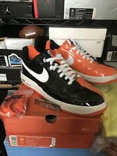 2005 Nike Air Force 1 Premium HALLOWEEN BLACK ORANGE WHITE 313641-011 Size 10