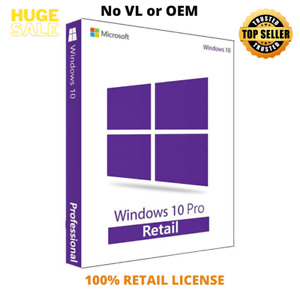 original w10 pro key- retail - not volume