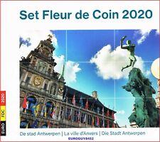 BELGIE - BU SET 2020 - DE STAD ANTWERPEN - 8.88 € (10 MUNTEN)