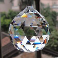 Wholesale 5PCS Crystal Glass Ball Pendulum Lamp Prisms Pendants Rainbows 30mm/*
