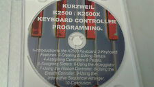 Kurzweil K2500 Knowledge is POWER! LEARN to Program YOUR Controller Functions!