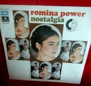 ROMINA POWER Nostalgia 45rpm 7' + PS ITALY 1972 MINT- Originale Perfetto