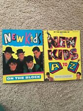 New kids On The Block Books 1990 & 1991