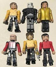 Star Trek Minimates Lot Of 6 Captain Kirk Kahn