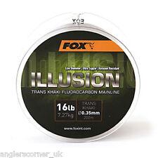 Fox Illusion FLUOROCARBONE fil 7.3kg kg 200m / pêche