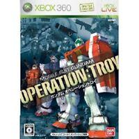 Xbox 360 Mobile Suit Gundam Operation Troy Xbox360 Japan