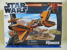 Star Wars SEBULBA'S PODRACER with Spring Out Spinning Blades - Ages 4 & up