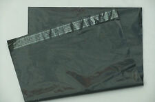 "SALE £52 x 1000 GREY 14 x 19"" 60mu ~ STRONG MAILING BAGS LARGE POSTAL ENVELOPES"