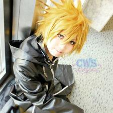 Kingdom Hearts Roxas Heat Resistant Short Yellow Blonde Anime Cosplay Wig