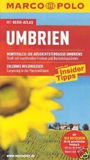 Umbrien / Marco Polo Reiseführer mit Reiseatlas