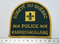 Inuk Police Surete Du Quebec Kanada Polizeiabzeichen