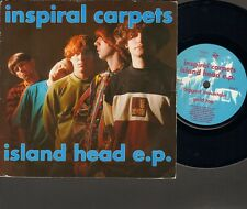 "INSPIRAL CARPETS Island Head EP 7"" SINGLE 4 track MUTE 1990"